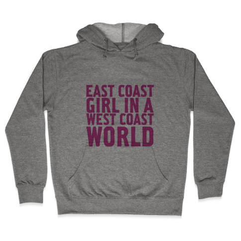 West Coast World Hooded Sweatshirt