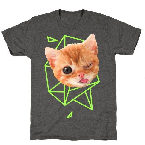 Miley Cat Head T-Shirt