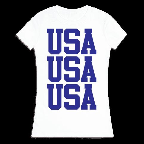 USA Womens T-Shirt