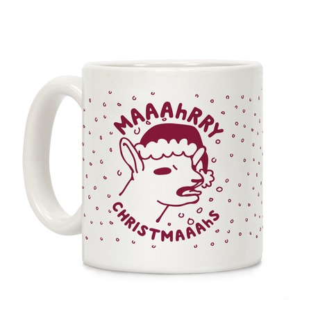 maaahrry christmaaahs Coffee Mug