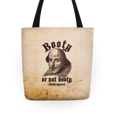 Booty Or Not Booty Tote