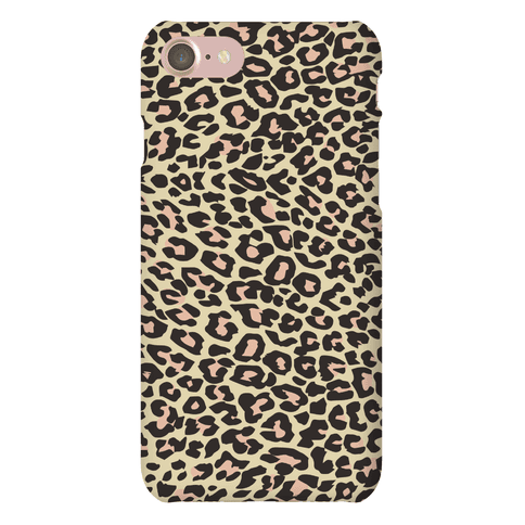 Leopard Pattern Case Phone Case
