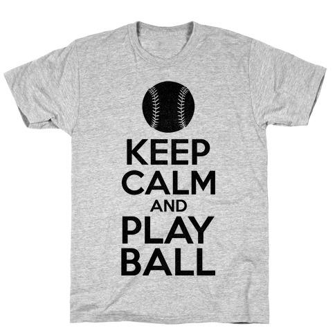 Keep Calm Ball T-Shirt