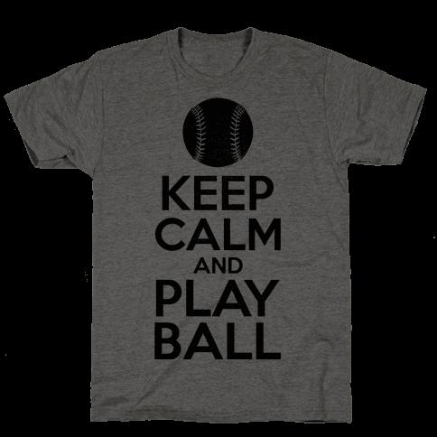 Keep Calm Ball Mens T-Shirt