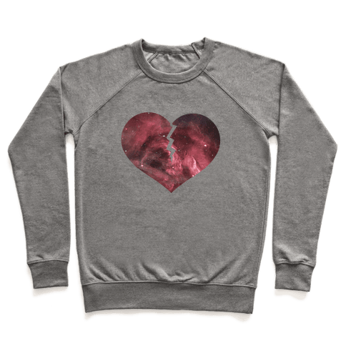Broken Heart -Galaxy (Slim fit) Pullover