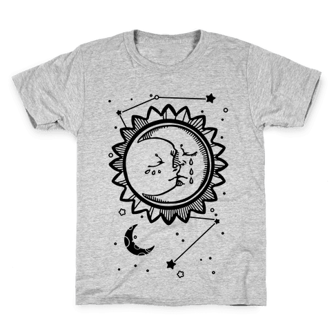Sun and Moon Faces Kids T-Shirt