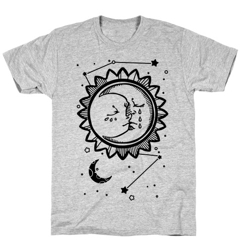 Sun and Moon Faces T-Shirt