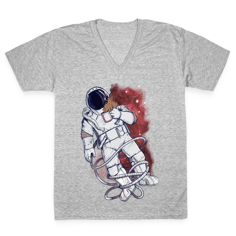 Space Mondays V-Neck Tee Shirt