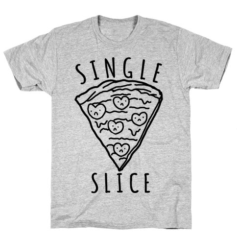 Single Slice Mens T-Shirt