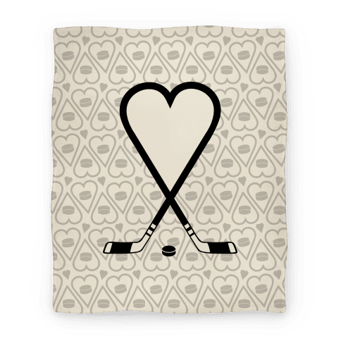 Hockey Love Blanket