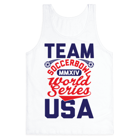 Soccerbowl World Series Tank Top