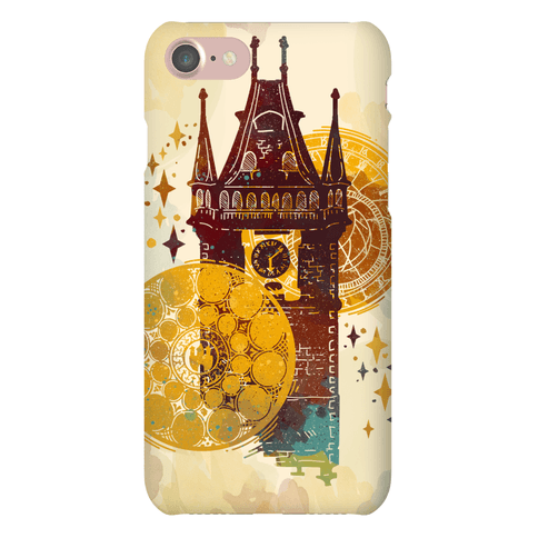Prague Astronomical Clock Phone Case