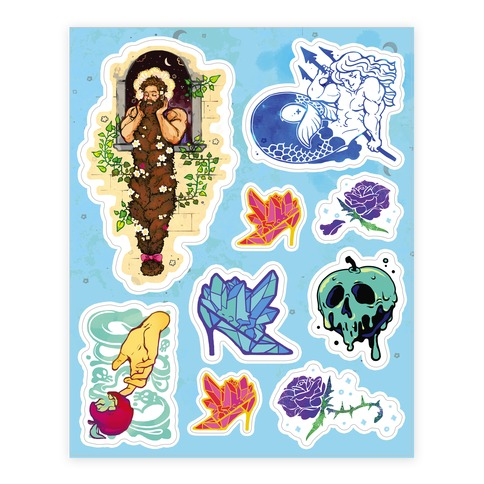 Strange Fairytale Sticker and Decal Sheet
