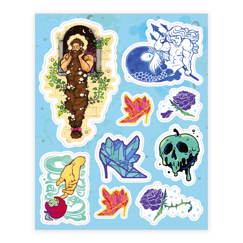 Strange Fairytale  Sticker/Decal Sheet