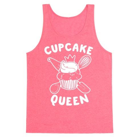 Cupcake Queen Tank Top
