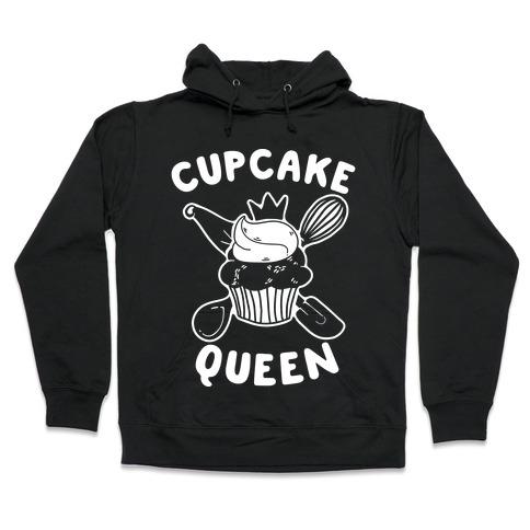 Cupcake Queen Hooded Sweatshirt