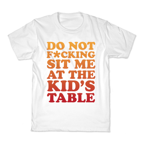THE KIDS TABLE Kids T-Shirt