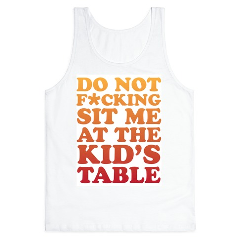 THE KIDS TABLE Tank Top