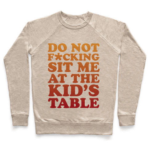 THE KIDS TABLE Pullover