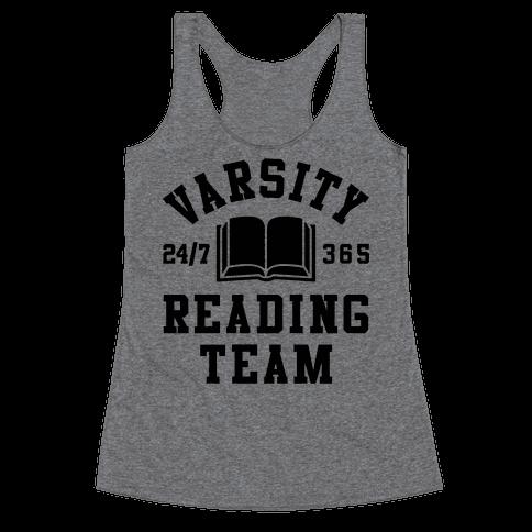 Varsity Reading Team Racerback Tank Top