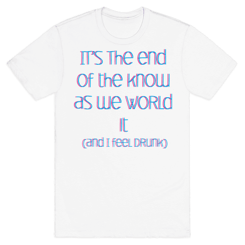 End of the Know Mens T-Shirt