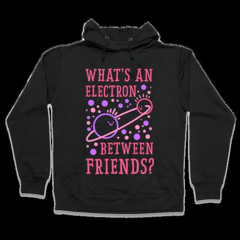 What's An Electron Between Friends? Hooded Sweatshirt