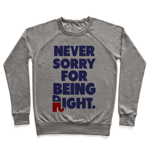 Never Sorry Pullover