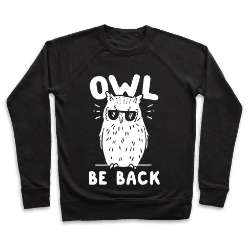 Owl Be Back Pullover