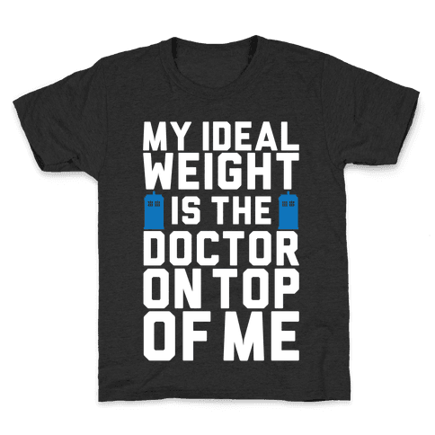 Ideal Weight (Doctor Who) Kids T-Shirt