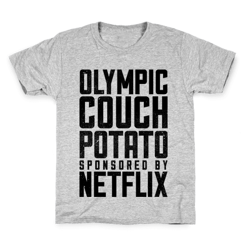 Olympic Couch Potato Kids T-Shirt