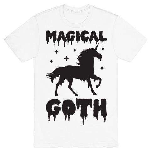 Magical Goth Unicorn T-Shirt