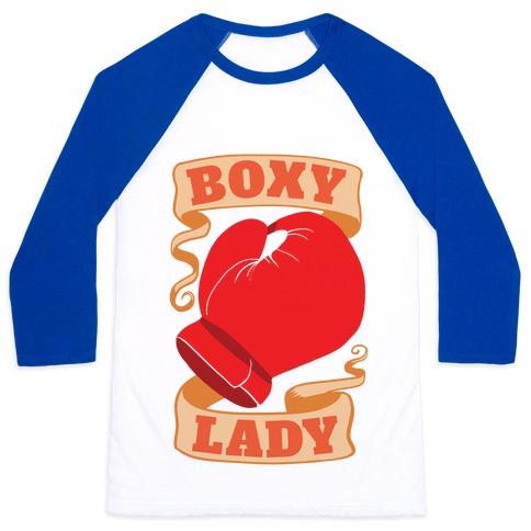 Boxy Lady Baseball Tee