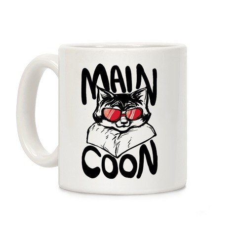 Main Coon Coffee Mug