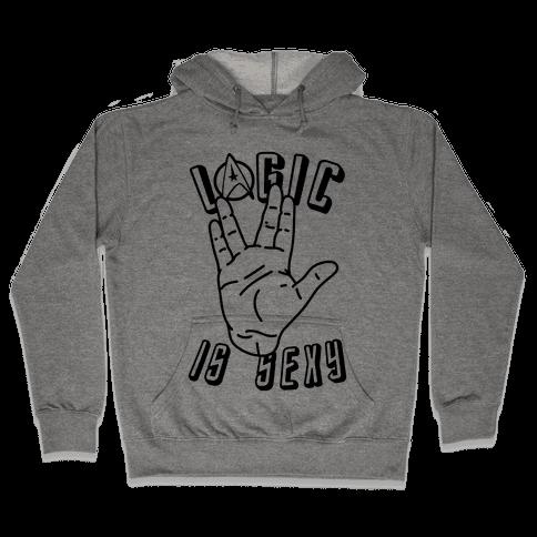 Logic Is Sexy Hooded Sweatshirt