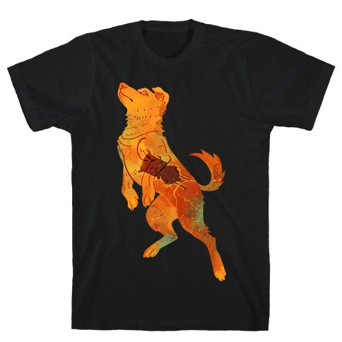 Astronaut Dog Zvezdochka T-Shirt