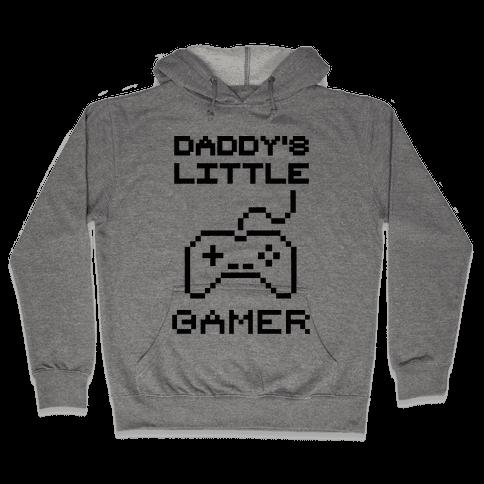 Daddy's Little Gamer Hooded Sweatshirt