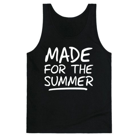 Made For Summer (Dark Tank) Tank Top