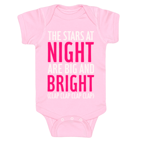 The Stars At Night Baby Onesy