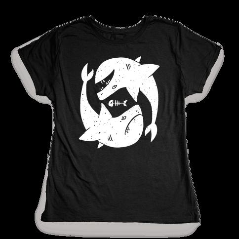 Infinite Sharks Womens T-Shirt