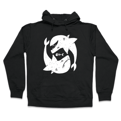 Infinite Sharks Hooded Sweatshirt