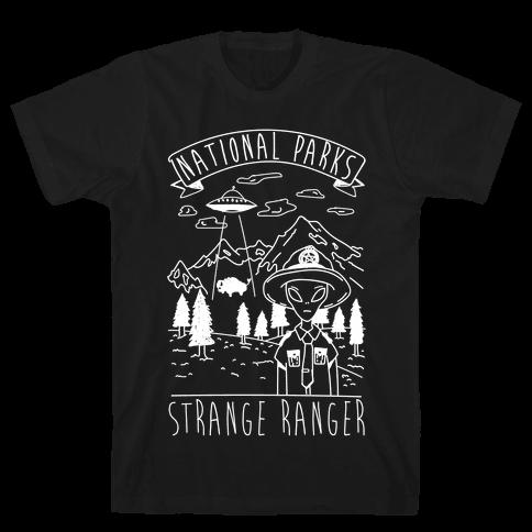 Strange Ranger Mens T-Shirt