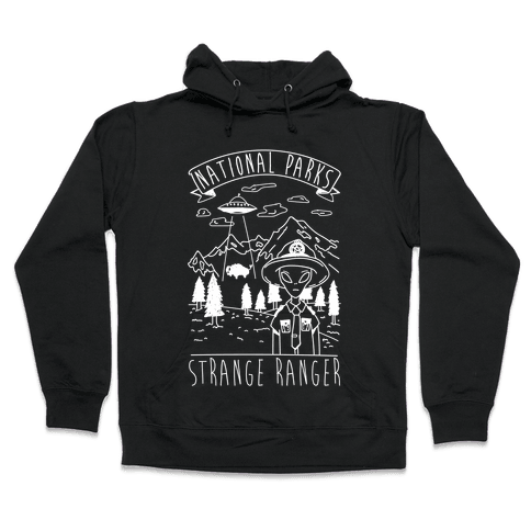 Strange Ranger Hooded Sweatshirt