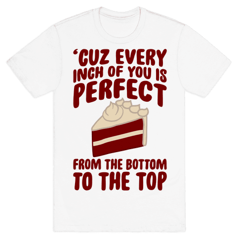 Every Inch Of You Is Perfect From The Bottom To The Top Mens T-Shirt