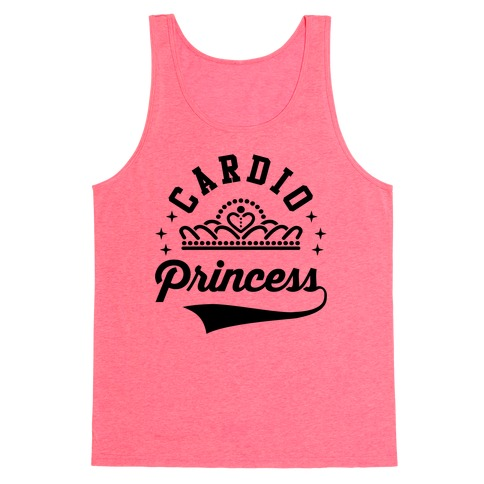 Cardio Princess Tank Top