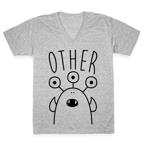 Other Creature V-Neck Tee Shirt