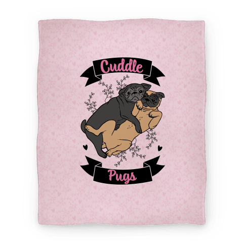 Cuddle Pugs Blanket
