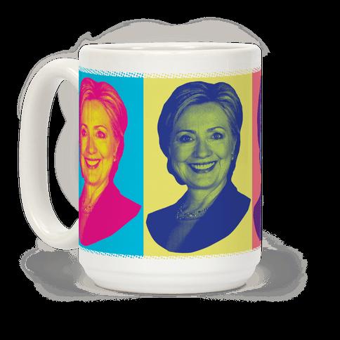 Pop Art Hillary Clinton