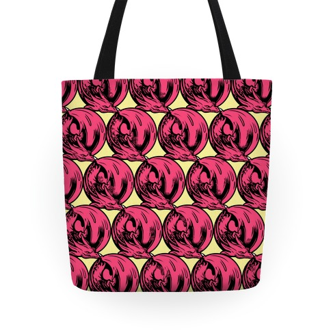 Sleeping Dragon (Red) Tote