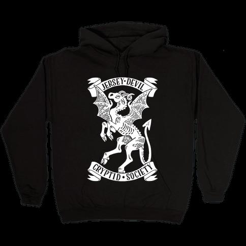 Jersey Devil Cryptid Society Hooded Sweatshirt