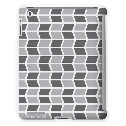 Parallelogram Pattern Case (Gray)
